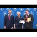 Prime Minister Viorica Dăncilă attends the awards ceremony for researchers who achieved performance at the International Exhibition of Inventions of Geneva